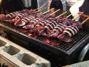 Grilled Squid 37